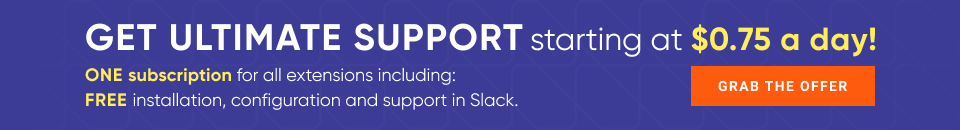 New support subscription