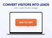 wrap links in customizable buttons and proactively interact with your store visitors