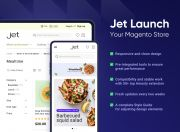 enjoy the stable performance and trendy design with the jet theme by amasty