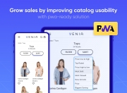 Get more orders with PWA-ready solution
