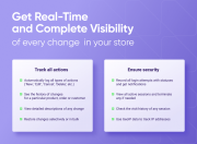 get real time visibility of every change