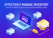 easily split your inventory among multiple warehouses