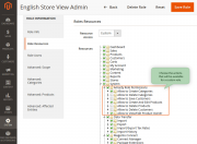 actions advanced permissions
