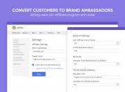create affiliate account