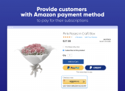 accept recurring payments via amazon pay