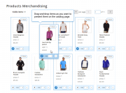 easily manage the way you want products to appear on the catalog page
