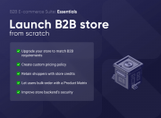 enjoy most essential features for b2b stores