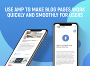 use amp to make your blog work fast