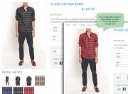 preset an image of a simple product for configurable products