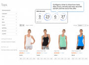 easily visualize your limited-time offers