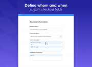 enable attributes for certain store views and customer groups