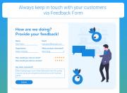 custom form feedback