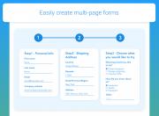 custom form multipage