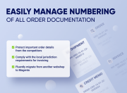 set custom number for the magento order