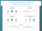 enhance user experience with swatches