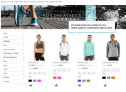 adjust product sorting on brand pages