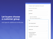 let customers choose their group