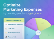 minimize marketing costs by creating multiple segments