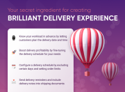 create an outstanding delivery experience