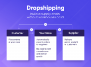 build a supply chain without warehouses and shipping costs