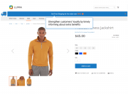 free shipping bar on product pages