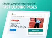 provide shoppers with extra fast store pages