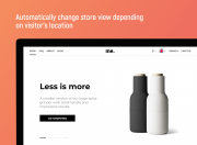auto-redirect users to a specific store view according to their location