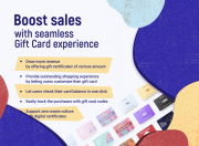 double sales with personalized gift cards