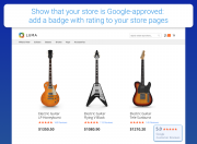 add a recognizable and trustworthy badge on your store pages