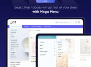 enable enhanced menu for your website