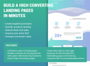 landing pages features