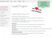 display images for loyalty program information
