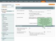 configure additional options