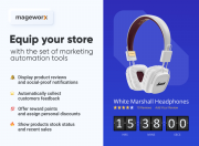equip your store with a set of automated marketing tools