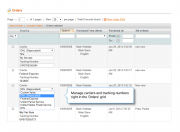 easily manage carriers and tracking numbers