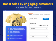 allow your customers to create custom products easily