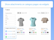 provide category pages with fies