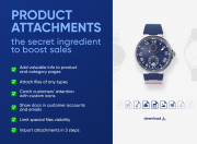 product attachments for magento 2