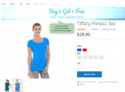 display custom banners on any product page you need