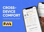enjoy advanced product reviews on pwa