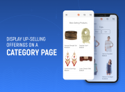up-sell and cross-sell products on category pages