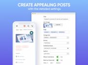 adjust each post detail
