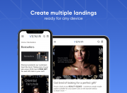 get user-friendly landings with cross-device and cross-browser support