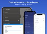 create a custom menu for devices