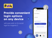 enable one-click login with pwa add-on for social login