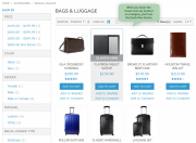 view product details on a category page.