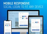 benefit from mobile responsive social login