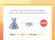 see the example of the fixed price for a product set promotion