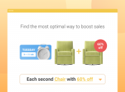 the example of the each n-th with 60% off action