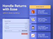 handle returns with ease with in-store currency